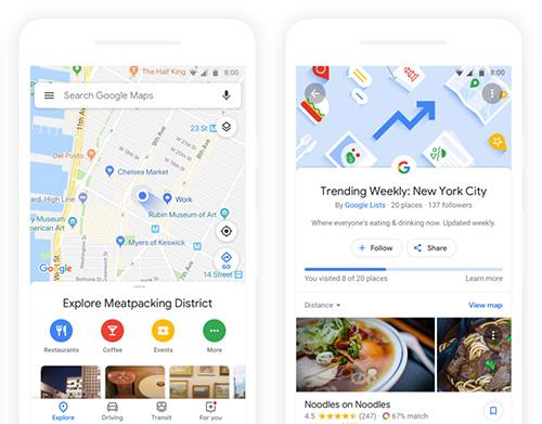 تحديثات جديدة لتطبيق خرائط جوجل Google Maps !