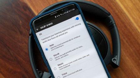 كيفية رفع صوت هاتف جلاكسي S9 باستخدام تقنية Dolby Atmos