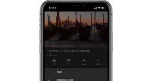 ايفون X يحصل على دعم فيديوهات HDR من يوتيوب!