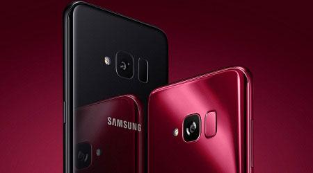 سامسونج تطلق هاتف جالكسي S Light Luxury باللون الأحمر المميز!