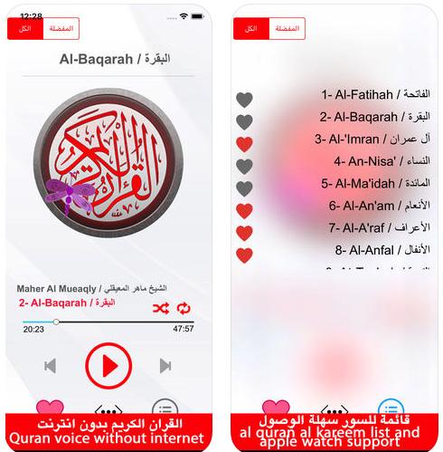 القرآن الكريم بصوت الشيخ ماهر المعيقلي (بدون إنترنت)