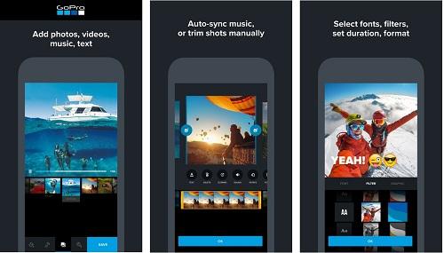 تطبيق Quik تحرير وتعديل مقاطع الفيديو