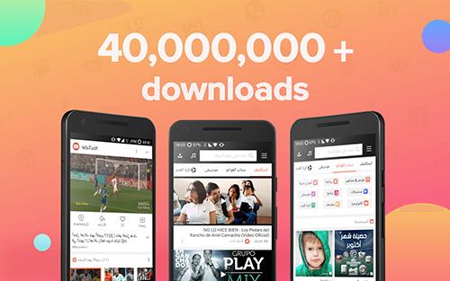 يستخدم تطبيق Snaptube أكثر من 40 مليون شخص