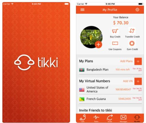تطبيق tikki لإجراء مكالمات دولية بسعر رخيص!