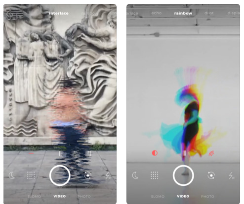 تطبيق D'efekt - لتصوير الفيديو بتأثيرات رائعة!