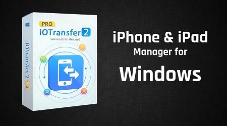 صورة برنامج 2 IOTransfer أفضل برنامج لإدارة ملفات الأيفون والأيباد عبر الحاسوب!