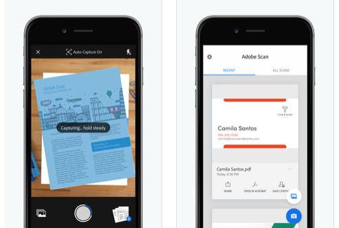 تطبيق Adobe Scan لتحويل جهازك إلى ماسح ضوئي!