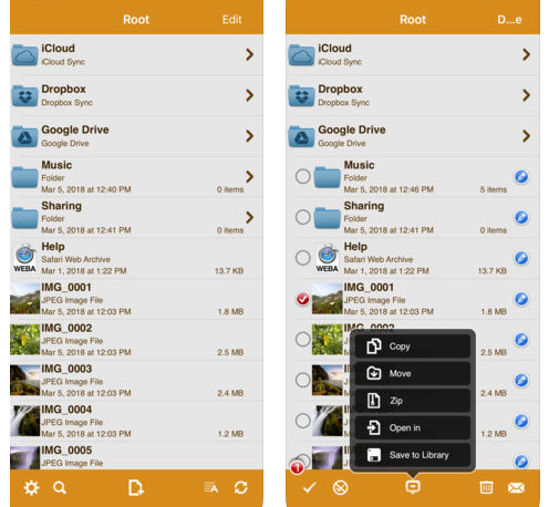تطبيق AirDisk Pro - لإدارة و نقل الملفات