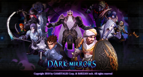 لعبة مرايا الظلام - لعبة استراتيجية مميزة (أندرويد / iOS)