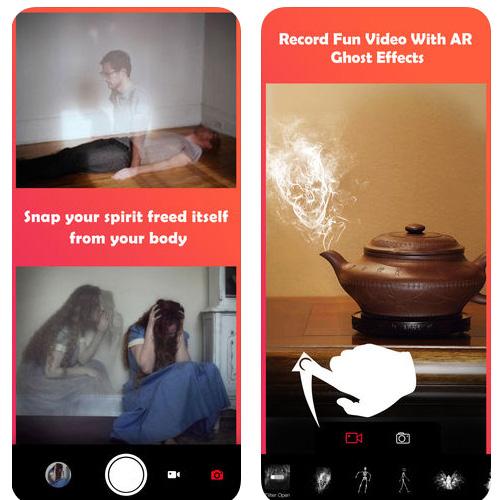 تطبيق Ghost Lens AR لإنشاء صور و مقاطع فيديو مرعبة و عمل تأثيرات شبحية!