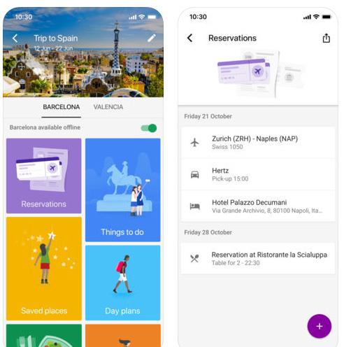 تطبيق Google Trips للتخطيط للرحلات و الأجازات!