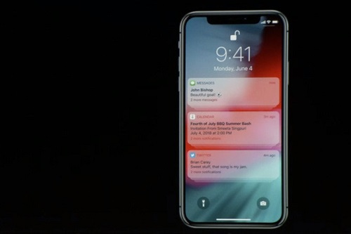 GROUPED NOTIFICATIONS