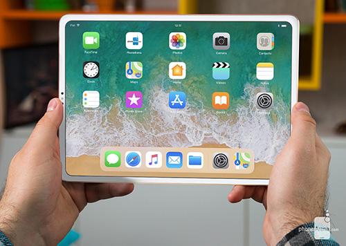 بالصور، هكذا سيبدو جهاز الآيباد القادم بشاشة نحيفة الحواف و تقنية Face ID !