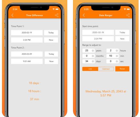 Time + Date Calculator - لحساب الوقت و التاريخ!