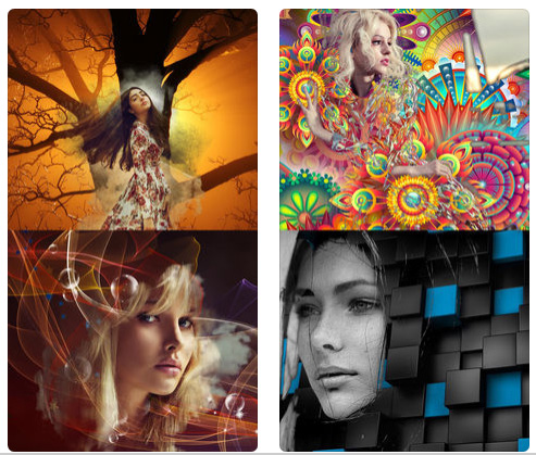 تطبيق Abstract Me - لتحويل الصور إلى لوحات فنية