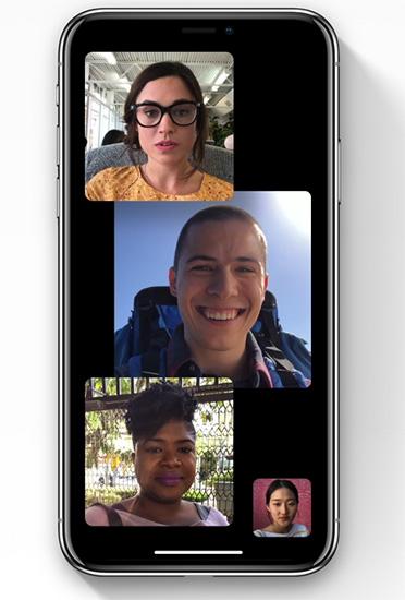 FaceTime : دعم المحادثات الجماعية!