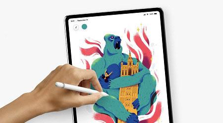 تسريب تصميم أيباد برو الجديد يحمل تقنية Face ID وشاشة بلا حواف!