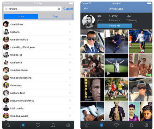 تطبيق Insgrab - لحفظ الصور و الفيديو من إنستاغرام و إعادة النشر ، مميز و مجاني!