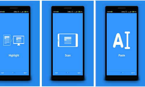 تطبيق AutoPick - حول كلمات الصور الى نصوص كتابية