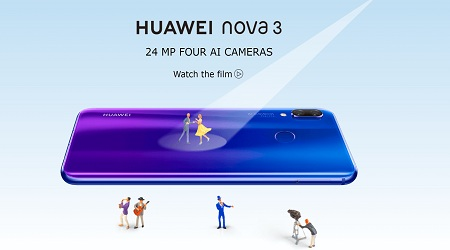 صورة هواوي Nova 3 متوفر الآن في الدول العربية – السعر والتفاصيل