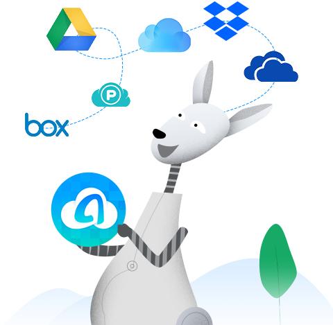 برنامج AnyTrans for Cloud لإدارة ملفاتك في خدمات التخزين السحابي في مكان واحد، هدايا مجانية!