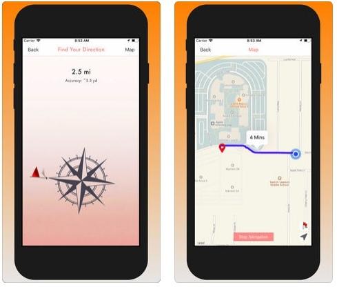 تطبيق Your GPS Location Finder Pro لحفظ موقعك