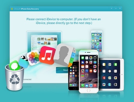 برنامج Gihosoft iPhone Data Recovery للآيفون و الآيباد