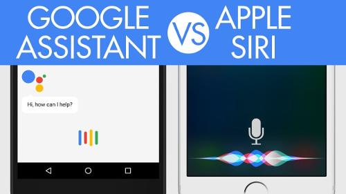 اختبار الذكاء: آبل سيري ضد جوجل Assistant - أيهما أذكى ؟!
