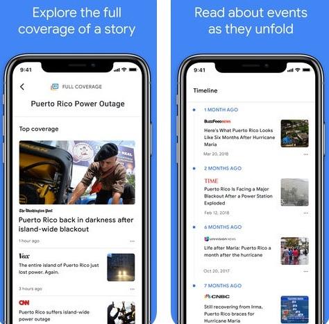 تطبيق Google News في حلته الجديدة!