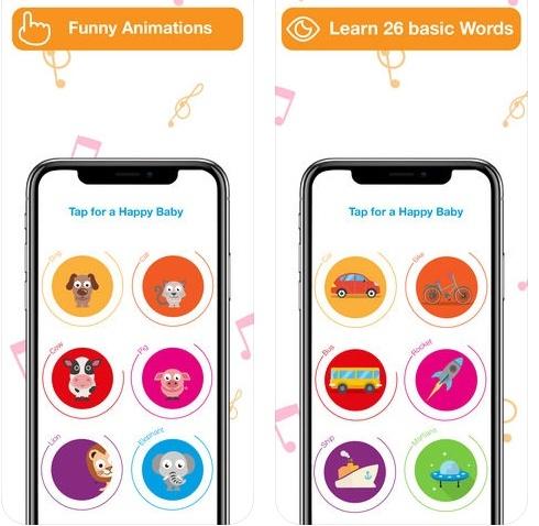 تطبيق Happy Baby - علّم صغيرك و نمّي ذكاءه بطريقة بارعة، مجاني!
