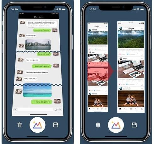 تطبيق Long Pic Text Screen Stitch لدمج المحادثات و لقطات الشاشة في صورة واحدة!