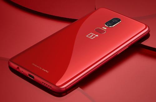 الكشف عن النسخة الحمراء من هاتف OnePlus 6
