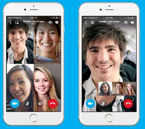 سكايب سوف يتيح ميزة تسجيل المكالمات المرئية
