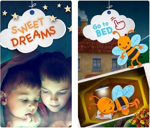 تطبيق Sweet Dreams - قصص رائعة قبل النوم للأطفال، مجاني!