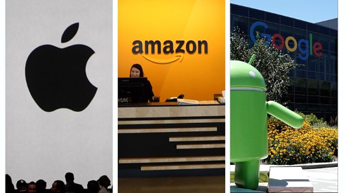 آبل أم أمازون أم جوجل: سباق الوصول إلى التريليون الدولار!