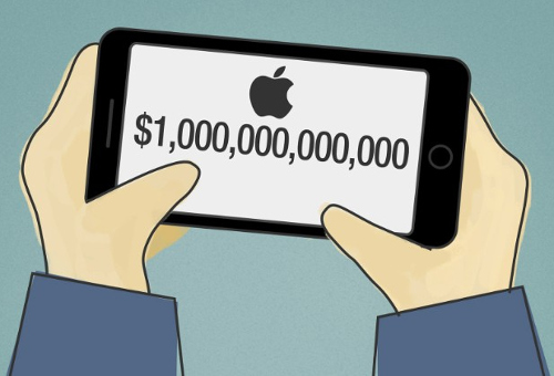 آبل على أعتاب الوصول إلى التريليون دولار و أمازون تلاحقها