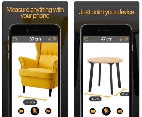 تطبيق Measuring Tape AR لتحويل جهازك إلى أداة قياس
