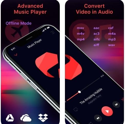 تطبيق Offline music لتحويل و تشغيل الصوتياتتطبيق Offline music لتحويل و تشغيل الصوتيات