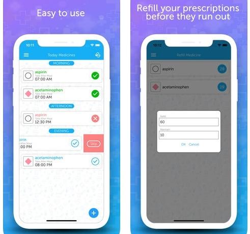 تطبيق Pill Reminder لتذكيرك بمواعيد الدواء