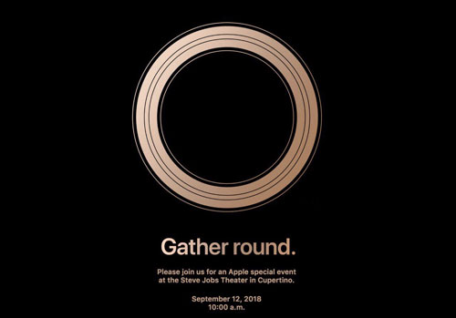 رسمياً - آبل تعلن عن هواتف الآيفون الجديدة لعام 2018 يوم 12 سبتمبر المقبل!