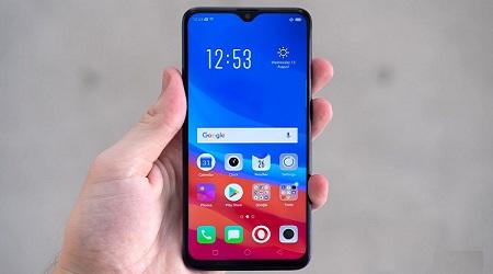 صورة هاتف جديدة من أوبو – OPO F9 بشاشة 6.3 بوصة ونتوء مثلث!