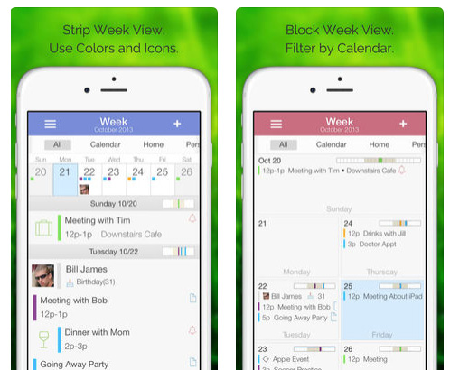 تطبيق Extreme Week Calendar لتنظيم مواعيدك