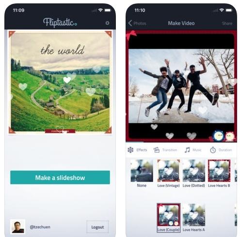 تطبيق Fliptastic Pro - لصناعة فيديو من صورك