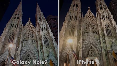 مقارنة الكاميرا - جالكسي نوت 9 ضد آيفون X