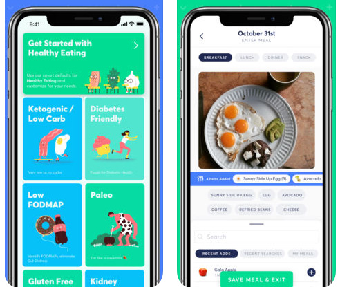 تطبيق Pinto للتغذية الصحية