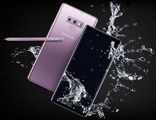 هاتف Galaxy Note 9 - التصميم والمظهر