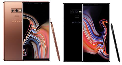 هاتف Galaxy Note 9 - الألوان