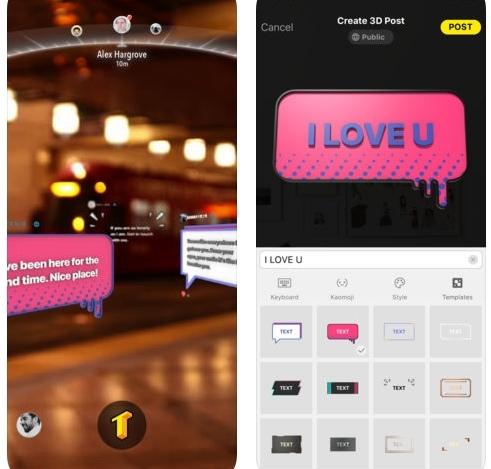 تطبيق TextHere - للكتابة بأسلوب الواقع المعزز