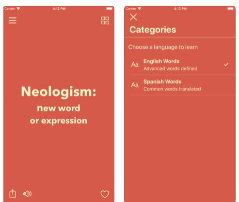 تطبيق Vocabulary لتعلم كلمات جديدة