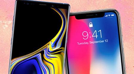 Photo of اختبار الشاشة والألوان – جالكسي نوت 9 ضد آيفون X !
